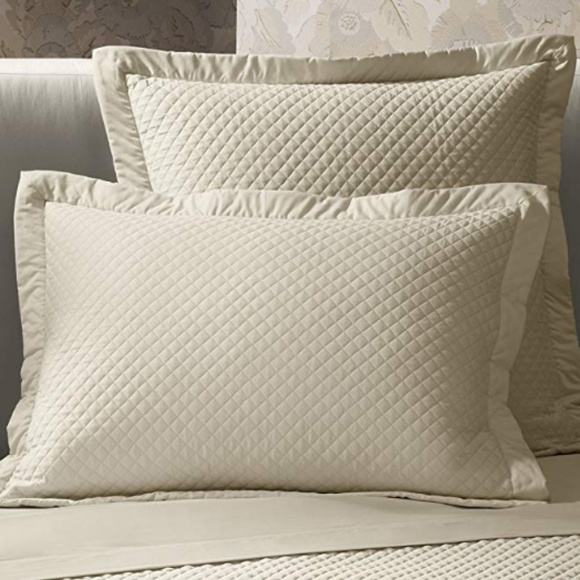 Ralph Lauren Home Hollywood Quilted Pillow Sham
